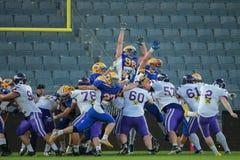 Giants vs. Vikings Royalty Free Stock Photography