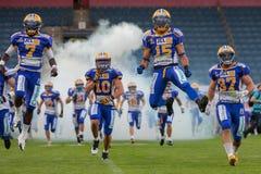 Giants vs. Vikings Stock Photography