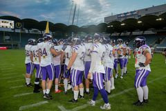 Giants vs. Vikings Stock Photos