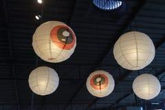 Giapponese d'annata della lampada fotografia stock libera da diritti