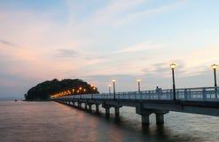 Giapponese del ponte Fotografia Stock