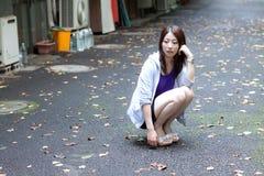 giapponese della ragazza Fotografia Stock Libera da Diritti