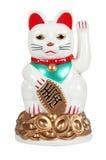 Giapponese Lucky Cat Figure Fotografia Stock Libera da Diritti