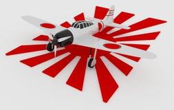 Giapponese zero Fotografia Stock