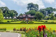 Giardini botanici Bogor, Java ad ovest, Indonesia immagini stock libere da diritti