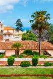 Giardini botanici nella città di La Orotava, Tenerife, isole Canarie fotografia stock