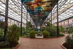 Giardini botanici Toluca di Cosmovitral Fotografia Stock
