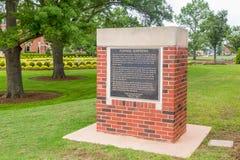Giardini convenzionali all'università di Stato di Oklahoma Fotografia Stock