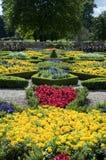 Giardini convenzionali a Charlecote Fotografia Stock
