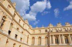 Giardini convenzionali del palazzo di Versailles Immagini Stock Libere da Diritti