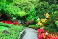 giardini del butchart Fotografie Stock Libere da Diritti
