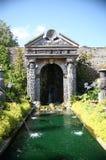 Giardini del castello di Arundel Fotografia Stock