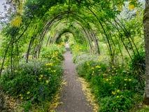 Giardini del castello di Cawdor Fotografia Stock Libera da Diritti