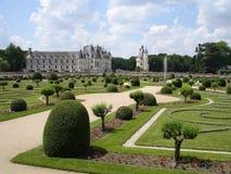 Giardini del Chennonceau Fotografie Stock