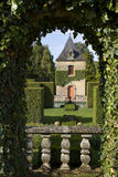 Giardini del francese di Eyrignac Fotografia Stock Libera da Diritti
