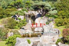 Giardini del giapponese di Buenos Aires Fotografia Stock Libera da Diritti