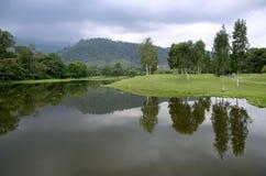 Giardini del lago Taiping Fotografia Stock