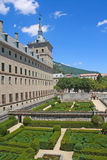 Giardini del monastero del EL Escorial. Fotografie Stock
