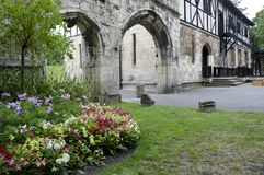 Giardini del museo di Yorkshire, York Fotografia Stock