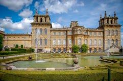 Giardini del palazzo di Blenheim Fotografia Stock Libera da Diritti