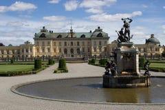 Giardini del palazzo di Drottningholm Immagini Stock Libere da Diritti