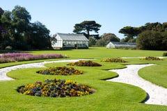Giardini del palazzo di Werribee Fotografia Stock Libera da Diritti