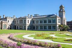 Giardini del palazzo di Werribee Fotografie Stock Libere da Diritti