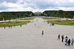 Giardini del palazzo imperiale di Vienna Immagini Stock