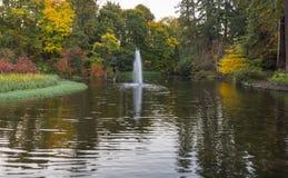 Giardini del rododendro a Portland, Oregon Immagine Stock Libera da Diritti