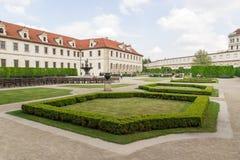 Giardini del senato a Praga Immagine Stock Libera da Diritti