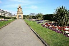 Giardini del sud della scogliera, Scarborough, Yorkshire fotografia stock