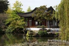 Giardini del Sun Yat-sen a Vancouver immagini stock