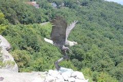 Giardini della città della roccia, Chattanooga, TN Fotografia Stock Libera da Diritti