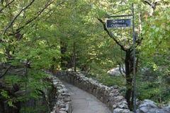 Giardini della città della roccia a Chattanooga, Tennessee Immagini Stock Libere da Diritti