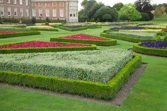 Giardini della proprietà terriera immagini stock libere da diritti