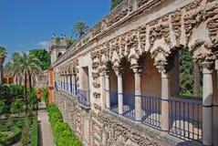 Giardini di Alcazar Fotografie Stock Libere da Diritti
