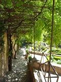 Giardini di Alhambra Fotografia Stock