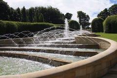 Giardini di Alnwick Immagine Stock