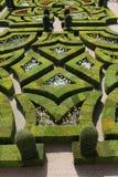 Giardini di amore del Loire Valley Villandry Fotografia Stock