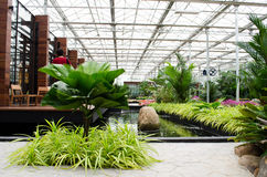 Giardini di architettura Fotografia Stock