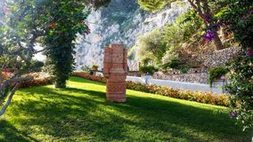 Giardini di Augusto Stockbilder