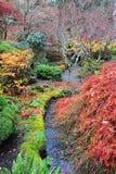 Giardini di autunno Immagine Stock
