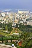 Giardini di Baha'i Immagini Stock