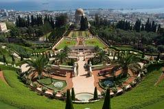Giardini di Bahai Immagine Stock