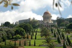 Giardini di Bahai Fotografie Stock