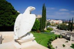 Giardini di Bahai di Haifa Fotografie Stock Libere da Diritti