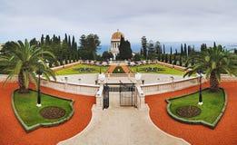 Giardini di Bahai a Haifa Fotografia Stock