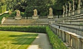 Giardini di Boboli fotografia stock libera da diritti