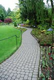 Giardini di Butchart fotografie stock libere da diritti