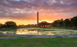 Giardini di costituzione del Washington DC Immagini Stock Libere da Diritti